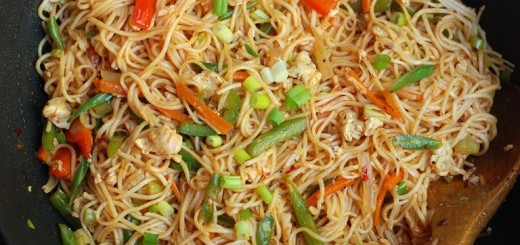 how to make vegetable noodles indian style