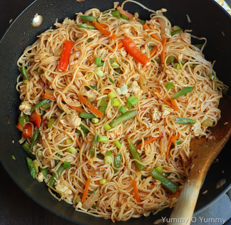 Vegetable And Egg Noodles