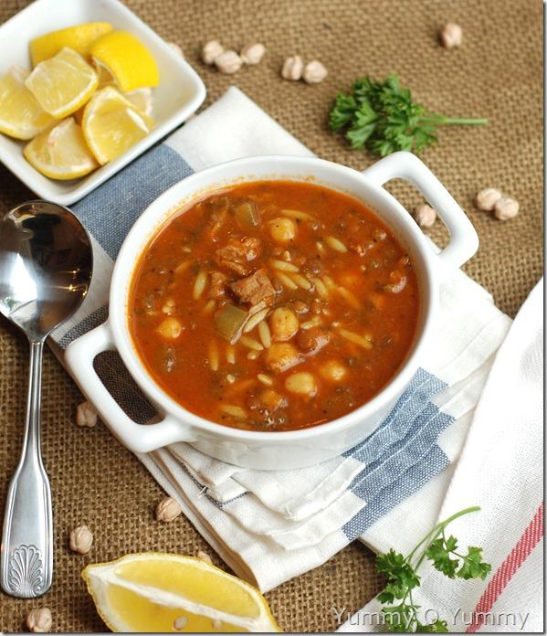 Harira /Moroccan soup