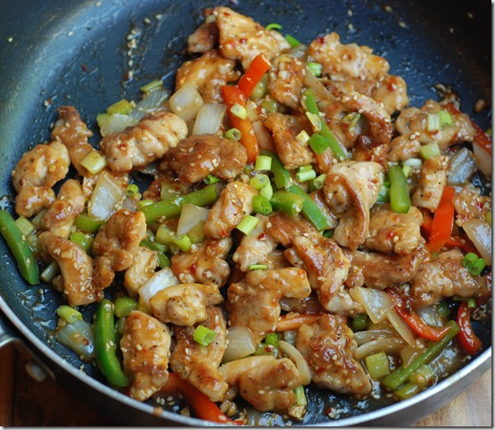 Stir-fried chilly chicken1