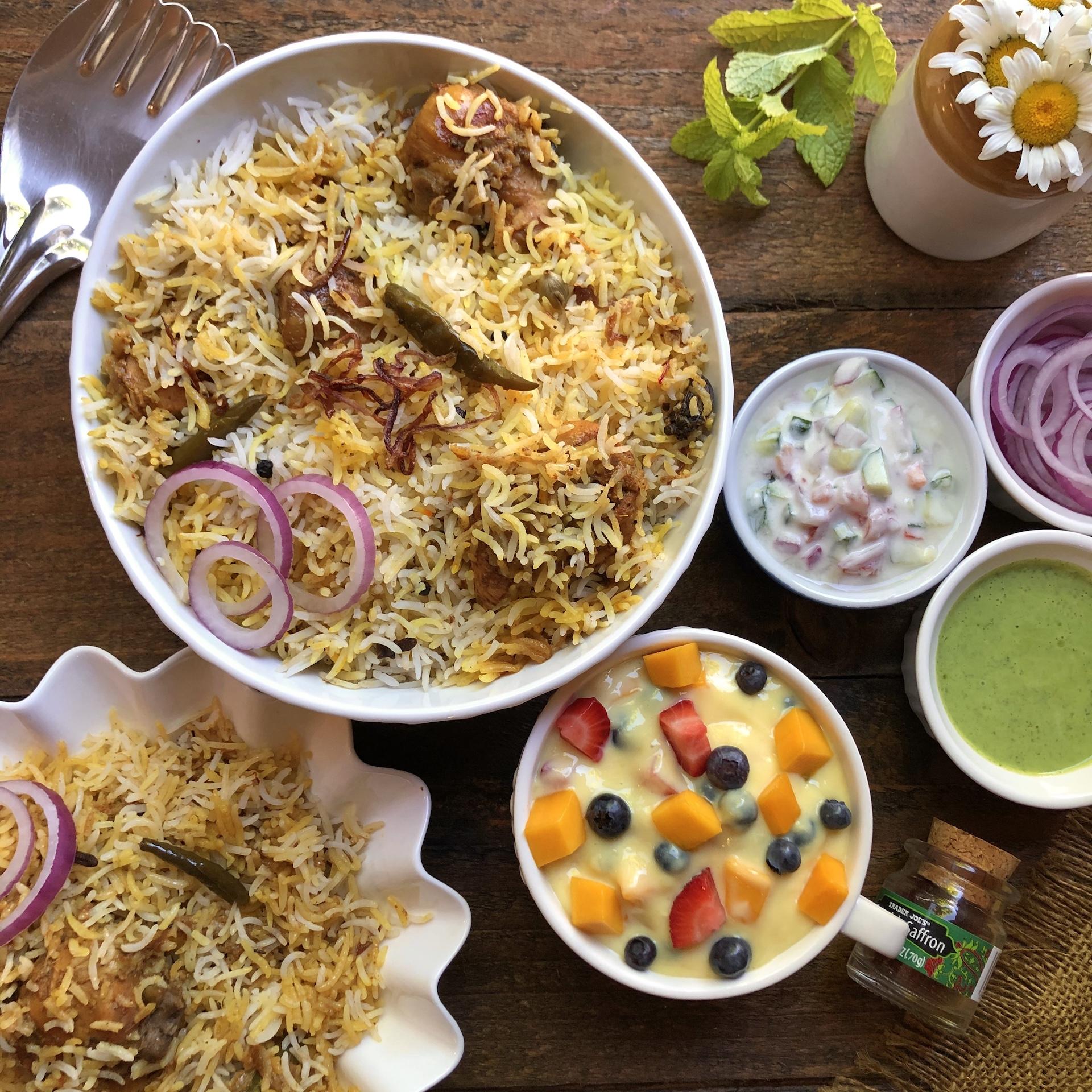 Zaffrani Chicken Biriyani