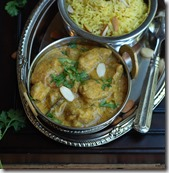Mughlai chicken qorma