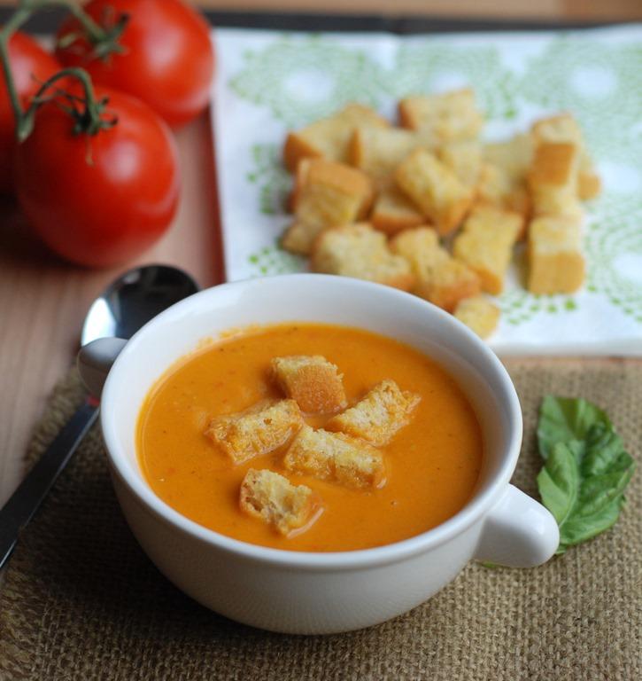 ... Tomato Soup (pictured) Italian lentil soup Quinoa vegetable soup