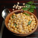 White Chana Sundal