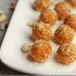 Easy Carrot and Coconut Laddu