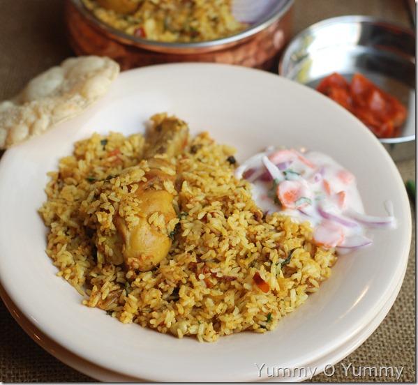 Chicken drumstick biriyani1