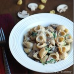 Creamy Mushroom Pasta – Kids' Lunch Idea 4
