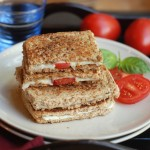 Grilled Tomato and Cheese Sandwich – Kids' Lunch idea 2