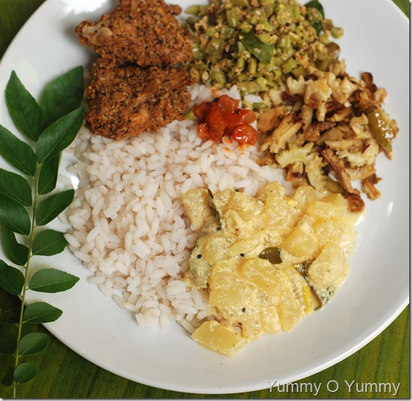 Vellarikka curry
