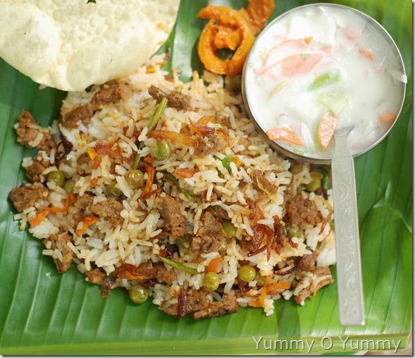 Beef biriyani - Kerala Style