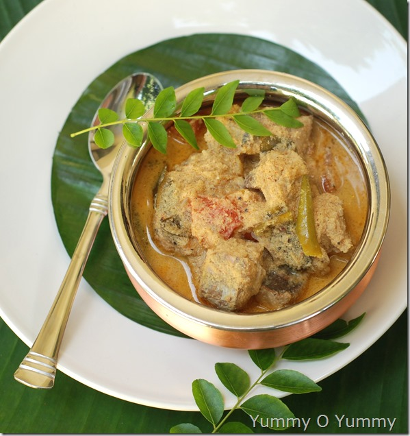 Meen thakkali curry