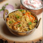 Semiya Egg Biriyani / Vermicelli Egg Biriyani – Kids' Lunch Idea 5