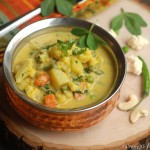 Methi Vegetable Curry / Fenugreek leaves and Vegetable Curry