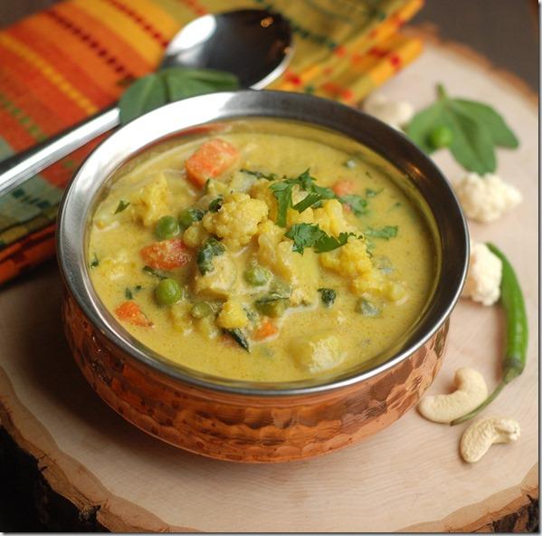 Vegetable methi curry
