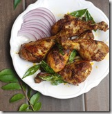 Chicken drumstick fry- less oil version