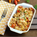 Chicken Sausage and Cherry Tomato Pasta