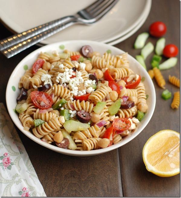 Greek pasta salad - 105