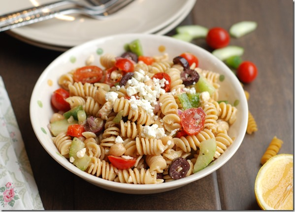 Greek pasta salad - 57