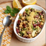 The Winners of the giveaway and Indian Style Bean Salad Recipe