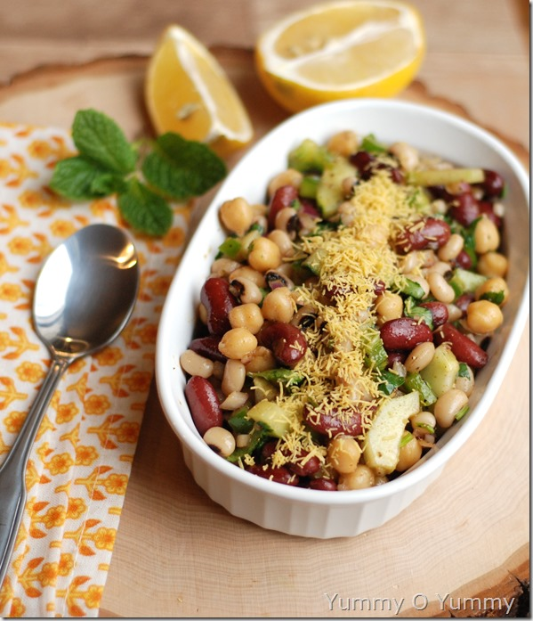 Bean salad - Indian Style