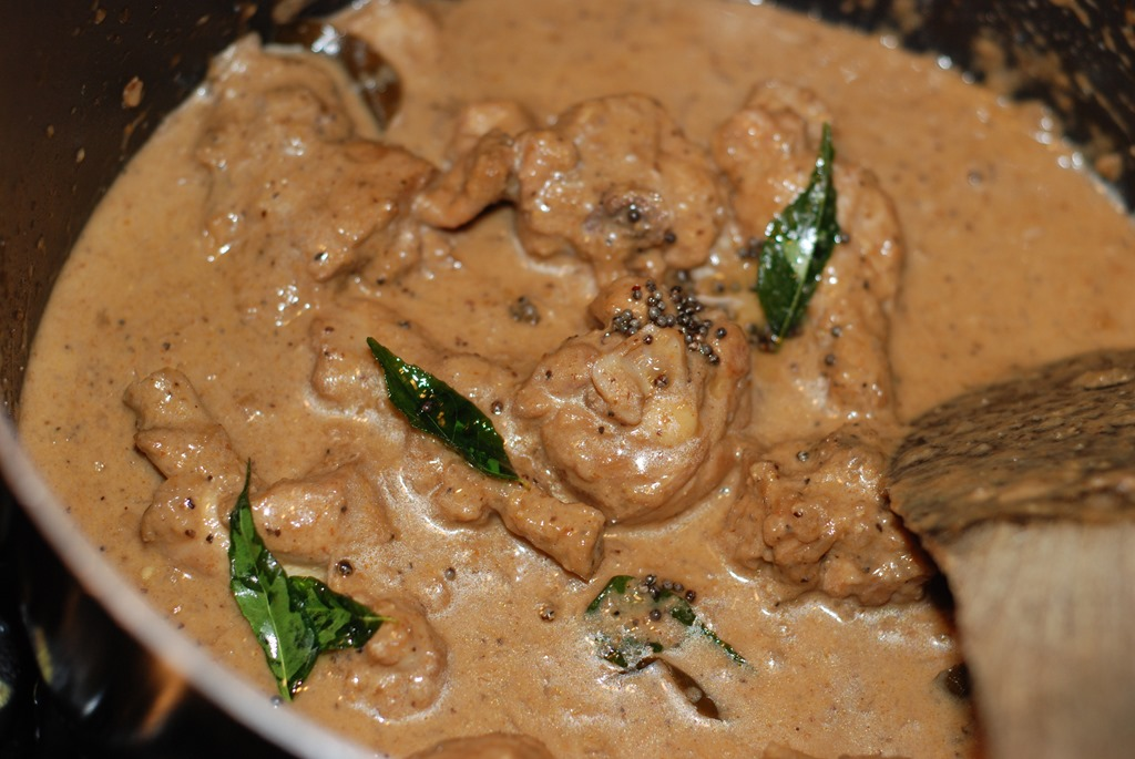how to cook chicken curry with coconut milk
