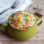 Mixed Vegetable Rice – Kids' Lunch Idea 6