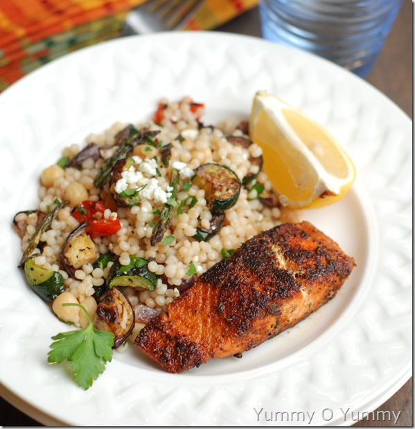 Cajun blackened salmon- 254