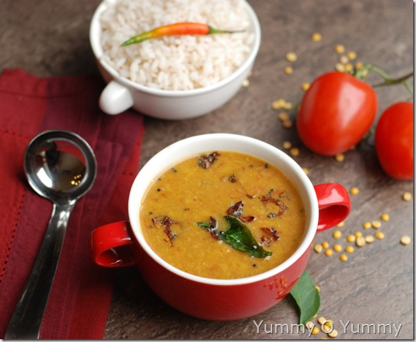 Varutharacha parippu curry