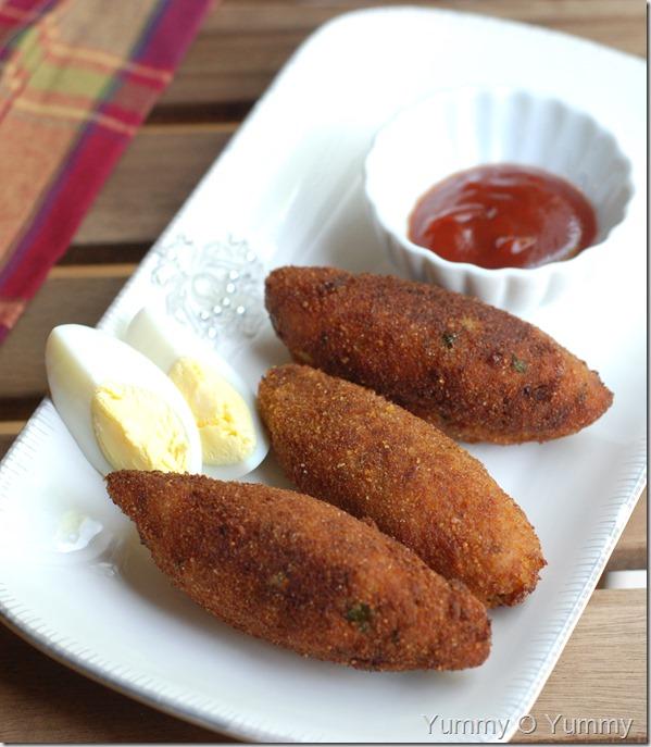 Egg kebab