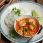 Thai Red Curry with Shrimp and Vegetables