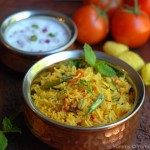 Tomato Biriyani – Kids' Lunch Idea 7