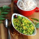 Broccoli Parippu (Dal)Thoran