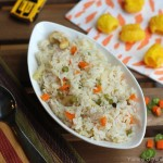 Vegetable Ghee Rice – Kids' Lunch Idea 8