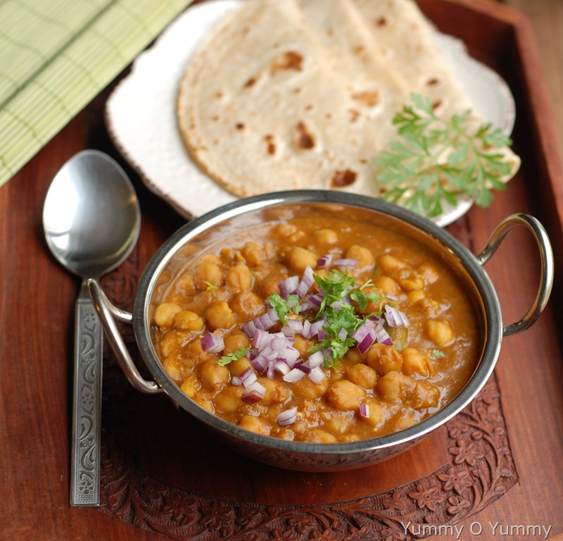 Punjabi chole restaurant style with video chole masala forumfinder Image collections