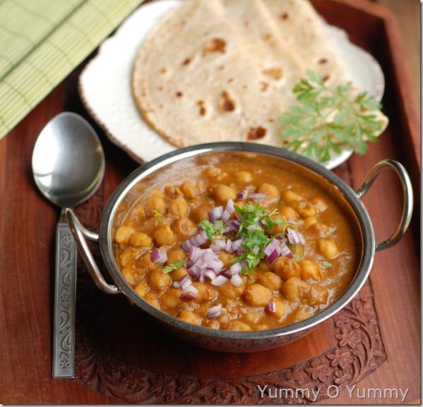 Punjabi Chana Masala