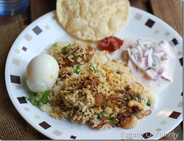 Kerala special chicken biriyani