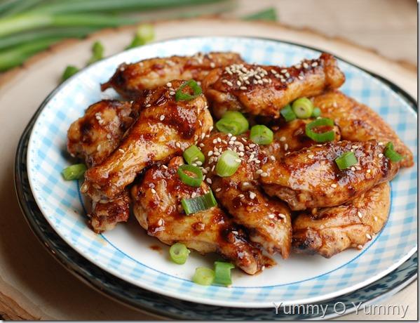 Asian zing wings