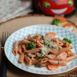 Easy Creamy Vegetable Pasta