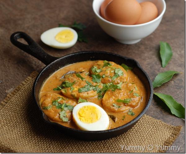 Tomato egg kurma