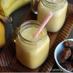 Dates, Mango and Banana Smoothie / Ramadan Recipes