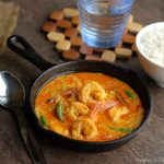 Chingri Malai Curry / Bengali Prawn Curry with Coconut Milk