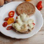 Egg and Mini Pepper Sandwich