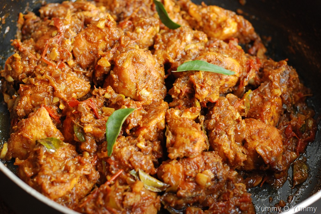 Annie S Kitchen Varutharacha Chicken Curry