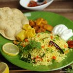 Lemon Rice with Vegetables With Video