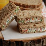 Cream Cheese Vegetable Sandwich