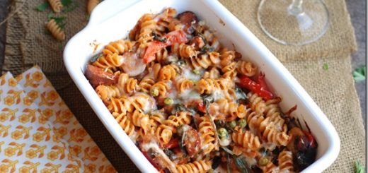 Chicken-sausage-and-veggie-pasta-bake_thumb.jpg