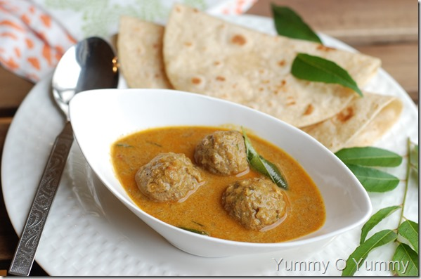 Meatball Curry - Kerala Style