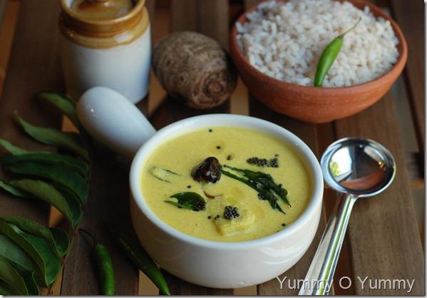 Chembu Moru Curry