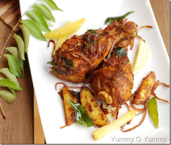 Chicken pepper roast
