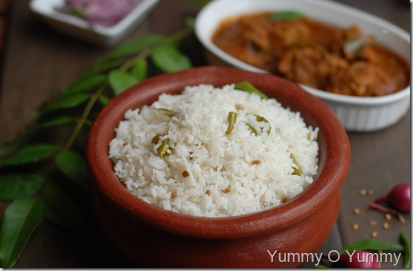 Malabar Coconut Rice / Thenga Choru